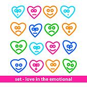 set - love in the emotional