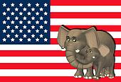 Republican Elephant Family