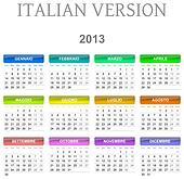 2013 calendar italian version