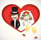 wedding card,