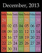 December, 2013