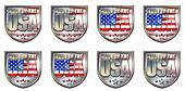 Made USA Chrome Shields