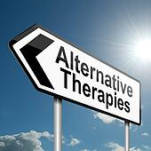 Alternative therapies concept.
