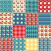 Quilt seamless pattern 2