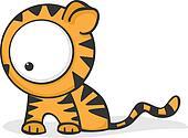 Big eyed tiger