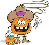 Pumpkin Cowboy