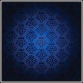 Vector vintage blue wallpaper