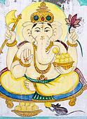 Hindu elephant-headed God.