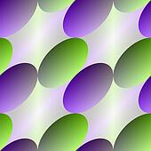 Green-violet oval seamless abstract