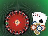 Casino Gambling, illustration