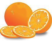 Orange, illustration