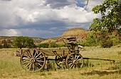 Old West Wooden Wagon