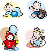 Cartoon childs