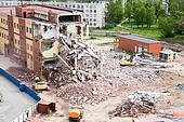 House demolition