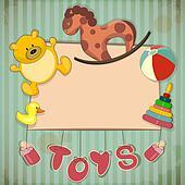 Vintage Design Toys Frame