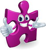 Jigsaw mascot