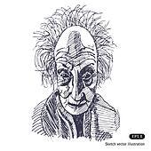 Old somewhat eccentric man