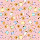 Seamless Background, Pastel Pink