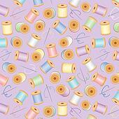 Seamless Background, Pastel Lavender