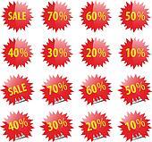 Sale web and print elements