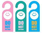 Tag do not disturb