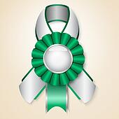 Vector prize ribbon
