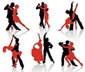 Ballroom dances. Tango