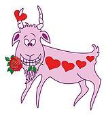 Valentine goat