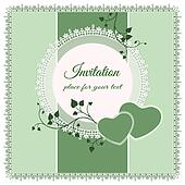 Vector ornate lace background