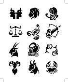 zodiac signs sets