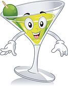 Martini Mascot