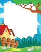 Landscape theme frame 1