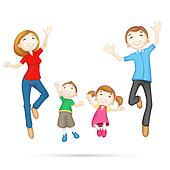 Happy 3d Family