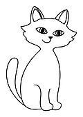 Kitten, contours