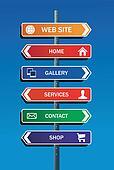 Internet website plan