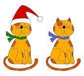 Cats. Decorative elements
