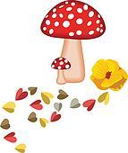 Magic Mushrooms and Hearts