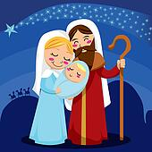 Nativity Clip Art - Royalty Free - GoGraph