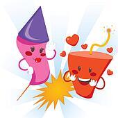 Explosive Love Fireworks