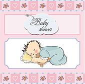 little baby boy sleep
