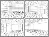 Conference Hall Interior