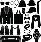 Man Male Clothing Wear Accessories