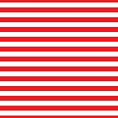 Seamless Red & White Stripes