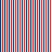 Seamless Red, White & Blue Stripes