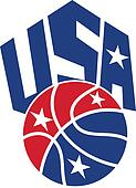 United States USA American Basketball Ball