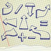 Arrows sketch