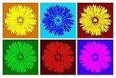 color dandelion