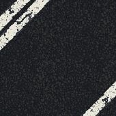 Fragment of asphalt road. Vector, EPS10