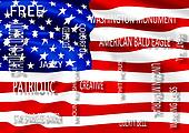 describe USA and flag