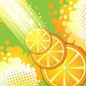 Slices orange